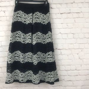 NWT Who What Wear Lace Skirt Size 26W
